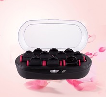 Amazon hot selling best quality women hair curlers rollers hot water curlers