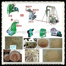 wood sawdust mill with the diameter of cutter head 800/600/400mm