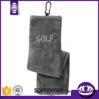 Multifunctional microfiber golf towel club glove with CE certificate