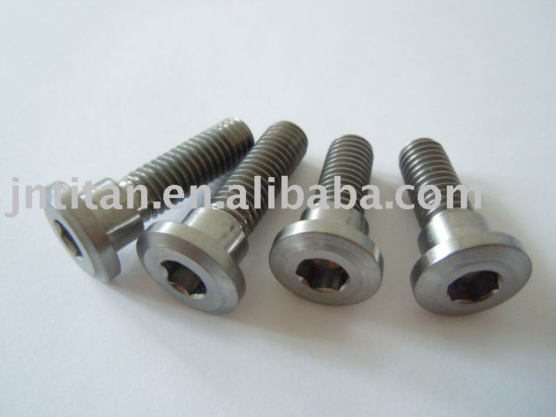 Titanium motorcycle bolt