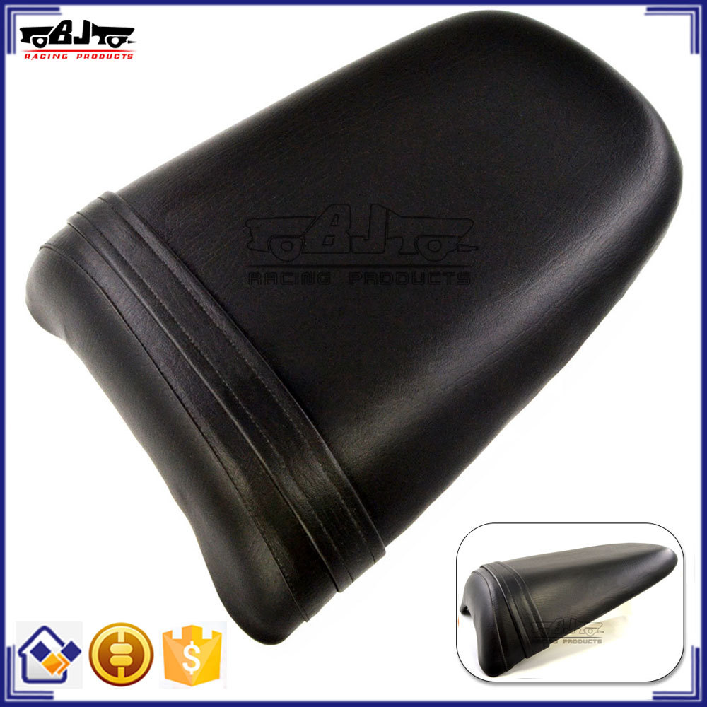 BJ-SC02-954/02 For Honda CBR 900RR 954 Black Leather Motorcycle Seat Cushion