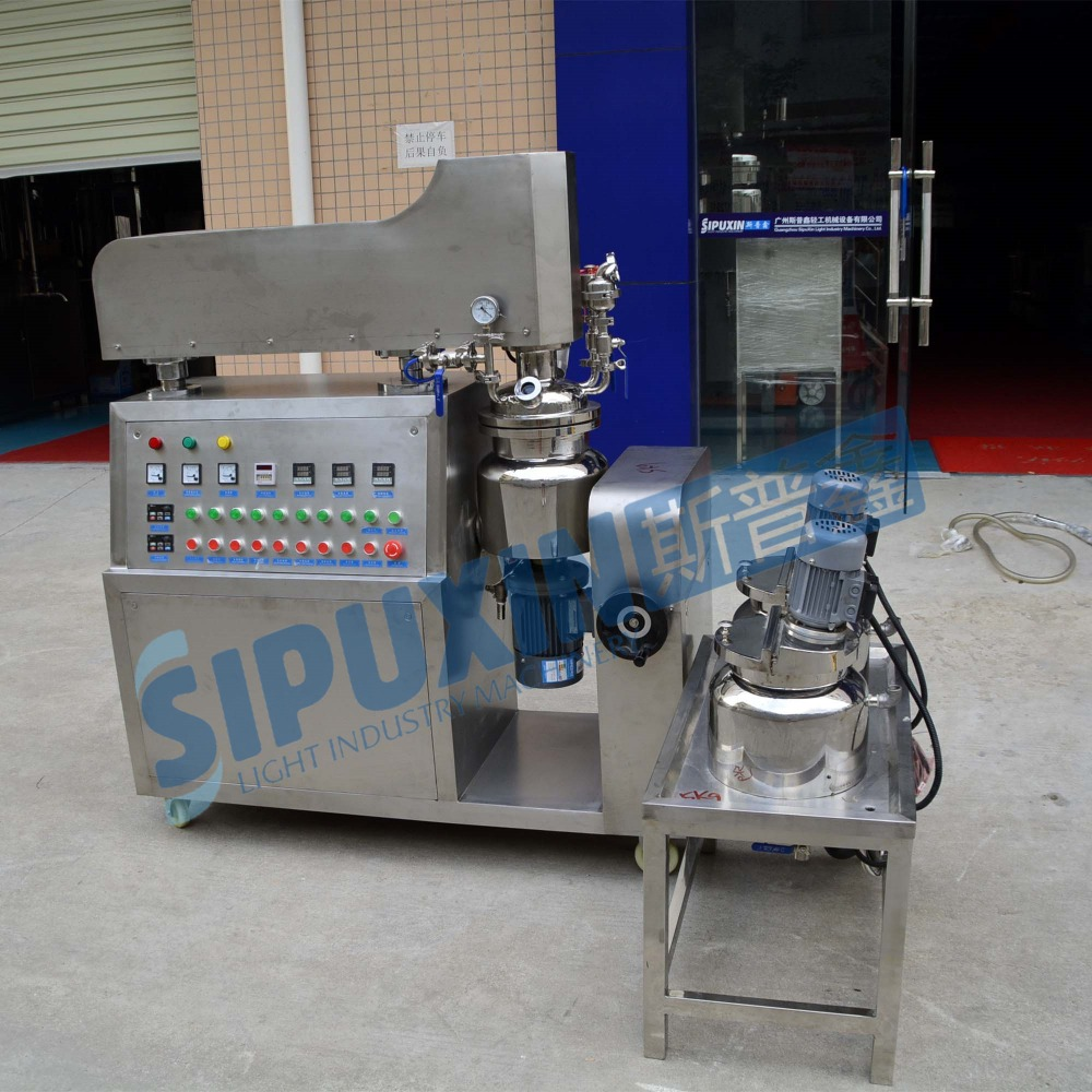 Hot selling mini vacuum homogenizer machine for making emulsion