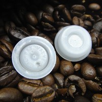 High quality China coffee bag plain small plastic one way valve