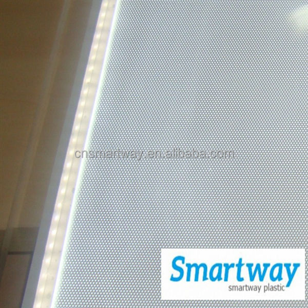 3.0mm optical transparent acrylic plastic sheets used for LGP light guide plate 100% virgin PMMA