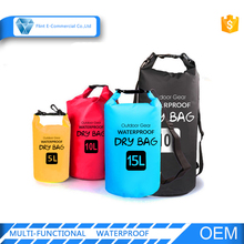 Outdoor Sport Ocean Pack Custom Logo PVC Waterproof Dry Bag