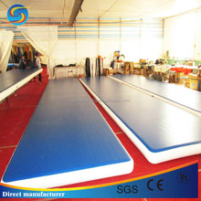 Factory directly sale long gym mat,inflatable air tumble track,inflatable air floor