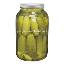 300ml cylinder shape glass mason jar with lid for spice