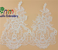 guoxin lace fabric wholesale new turkish embroidery lace fabric for garment accessories