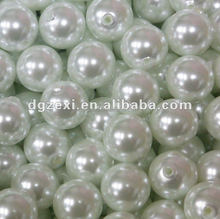 Bag of Elegant White Pearl Beads Great for Table Scatter