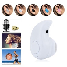 Newest Smallest Wireless Invisible Bluetooth Mini Earphone Headset Headphone Support Hands-free Calling For iPhone Samsun
