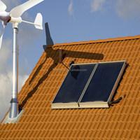 600w wind turbine + 500w solar panel power generate system