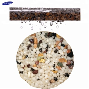 Water permeable paving Two Component polyurethane Epoxy Resin Glue for Stone Mixing on Pavling