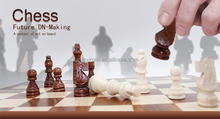 wooden high quality chess sets with wooden piece wood chess set indoor chess set