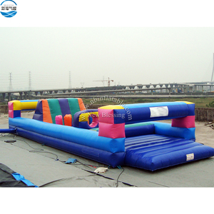 Exciting giant inflatable obstacle racing challenge game for sale