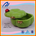 Pumpkin shape jewelry box.resin jewelry box