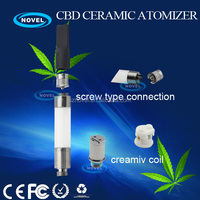 2014 new electronic cigarette CBD ceramic vaporizer pen ego one atomizer