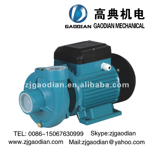 DK electric centrifugal water pump,specification of centrifugal pump for water