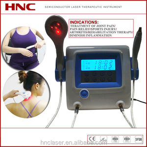 Factory offer portable medical laser physical therapy veterinary equipment for body pain relief
