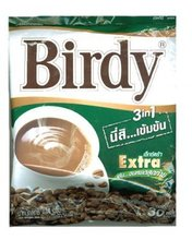 instant coffee 3in1 BIRDY EXTRA