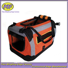 New design portable pet bags for small dog with long belt tote et bag for travel