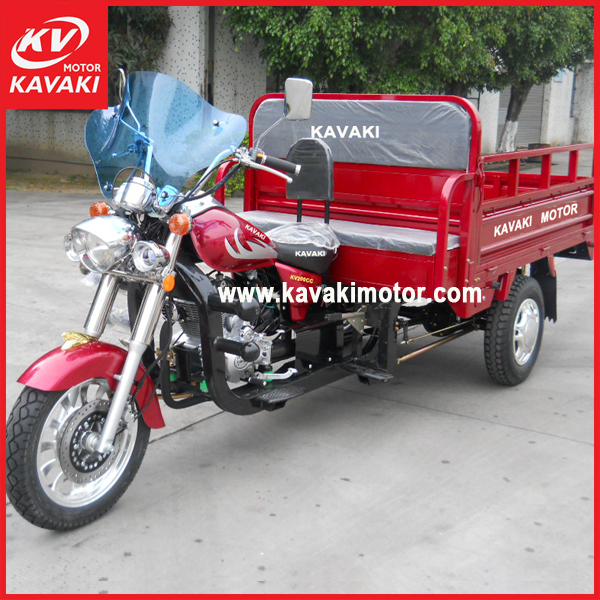 Chinese rickshaw two seats 3 wheel motor tricycle electric motorcycle with front dust cap