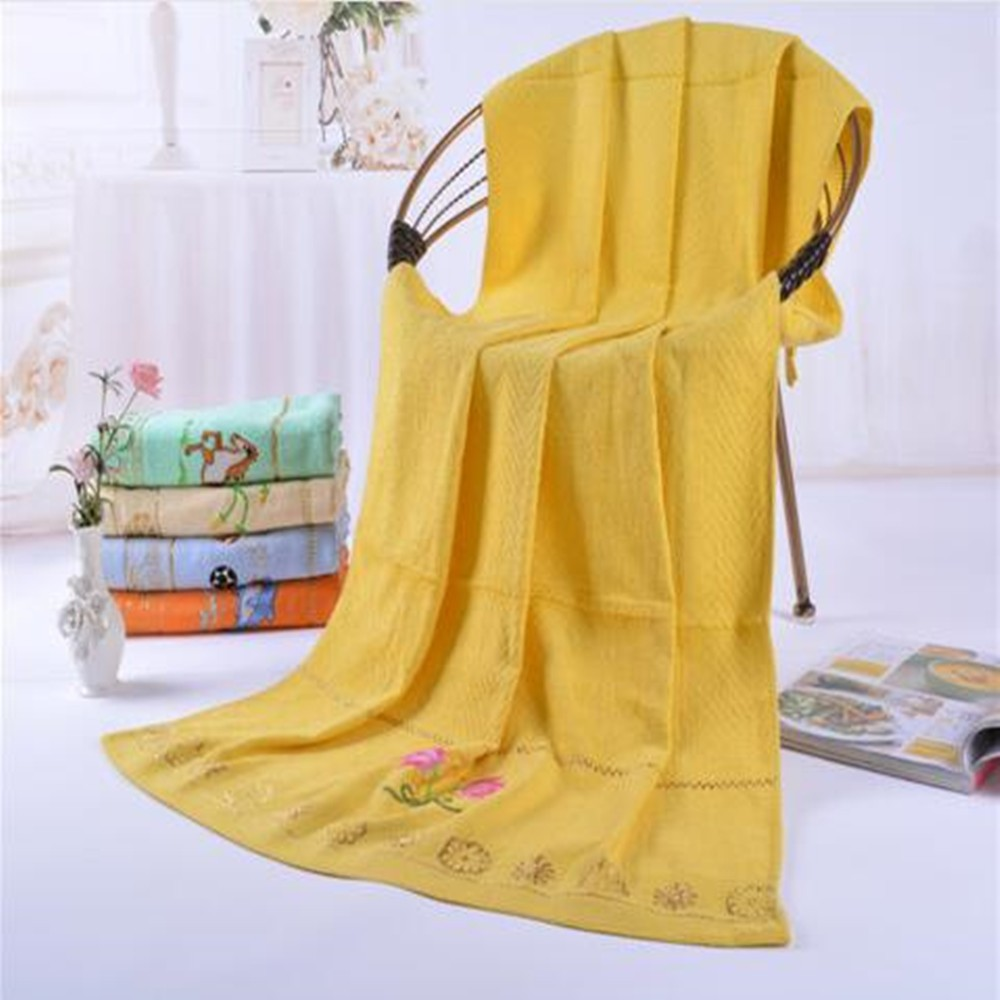 cheapest jacquard velvet 100 bath cotton towels by embroidered indonesia