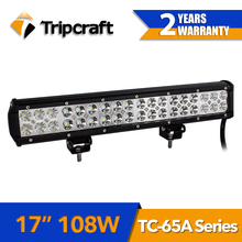 Two Years Warranty! Adjustable Bracket Mount Waterproof 108w Offroad Led Light Bar