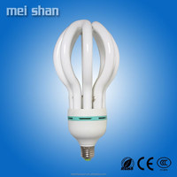 lotus lamp 17mm 4u shape 45W cfl lamp high lumens high quality CFL energy saving light