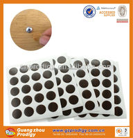 2015 PVC material head cover furniture screw covers/adhesive rubber pads for furniture