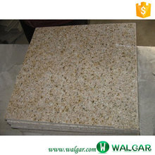 Bush Hammered G682 cut to size golden sand yellow granite tile,countertop prefeb slab
