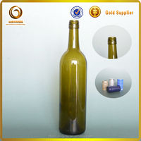 750ml bordeaux glass red wine screw top bottles