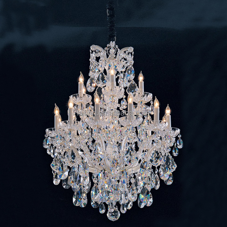 Wholesale mercial Luxury K9 Crystal Chandeliers Dubai