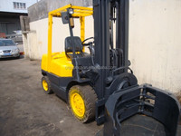 hot sale!! used tcm 3 Ton forklift/ used forklift/ triplex/ paper roll clamp