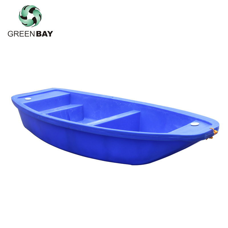 2.8m PE Small Hard Plastic Salvage Pontoon Boat Fishing Boat