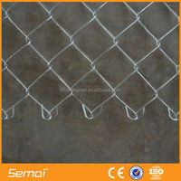 SEMAI PVC Coated Cyclone Wire Netting/Chain Link Fence