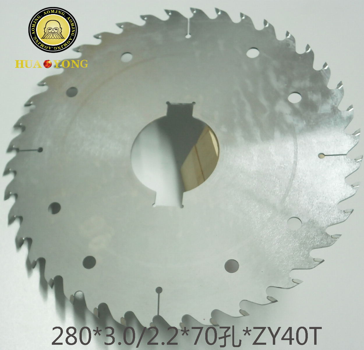 Professional-grade scraper logs saw blade Multi-ripping saw blade with Scraper