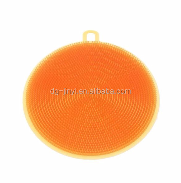 kitchen Wash Dish round cleaning brush silicone clean brush