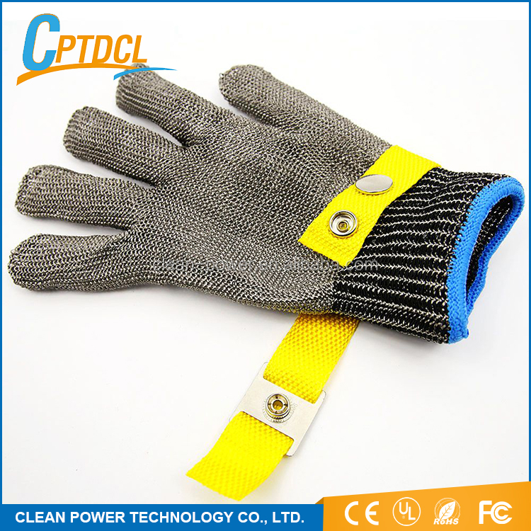 Best Price Stainless Steel Safety Work Glove Butcher Proof Stab Cut Resistant Gloves With CE UL ROHS