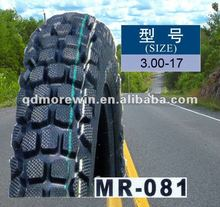 MAORUN 3.00-17 motorcycle cross country tyre made in China