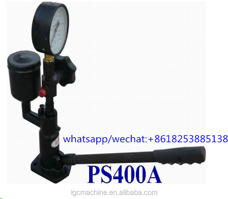 Low price high quality PS400A common rail electronic diesel injector nozzle <strong>tester</strong>