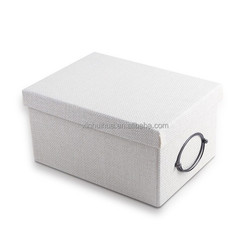 customized packaging shoe box with bowknot from Shenzhen OEM for Wedding