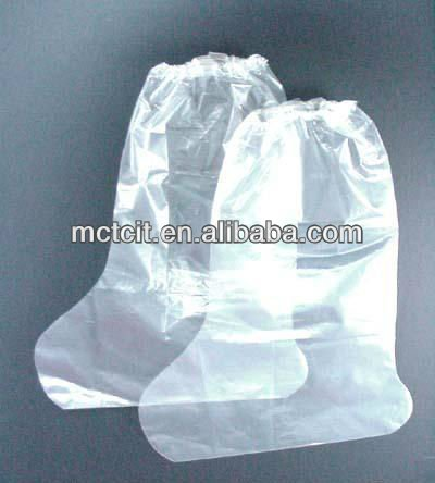 disposable plastic PE waterproof boot cover