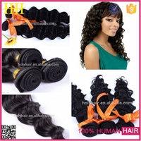 Indian hair short body wave wholesale 5A top quality 100% real indian hair weave loose deep wave dye and bleach free