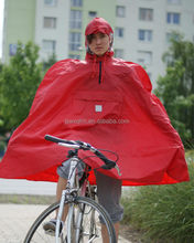 OEM bike poncho raincoat waterproof pocket raincoat bicycle poncho black rain poncho