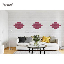 hot sale modern foam wallpaper pe foam wall sticker 3D economical foam brick panels