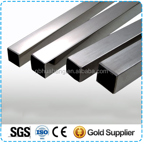 2017 New product 304 201 Stainless steel welded square pipe China Stainless Steel Pipe Manufacturers