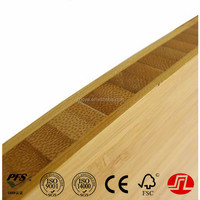 E0 glue bamboo core melamine coated bamboo plywood for making furniture