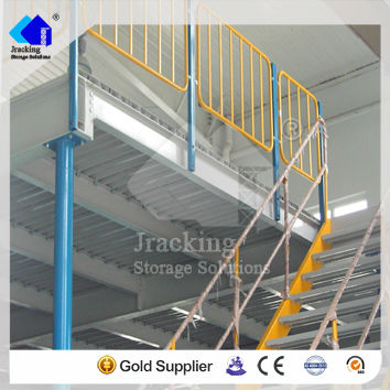 china supplier stainless steel price per kg mezzanine floor shelves,multi-level with rack prefabricated steel mzzanine floors