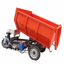 Hot sale 2t cargo tricycle with closed cargo box price