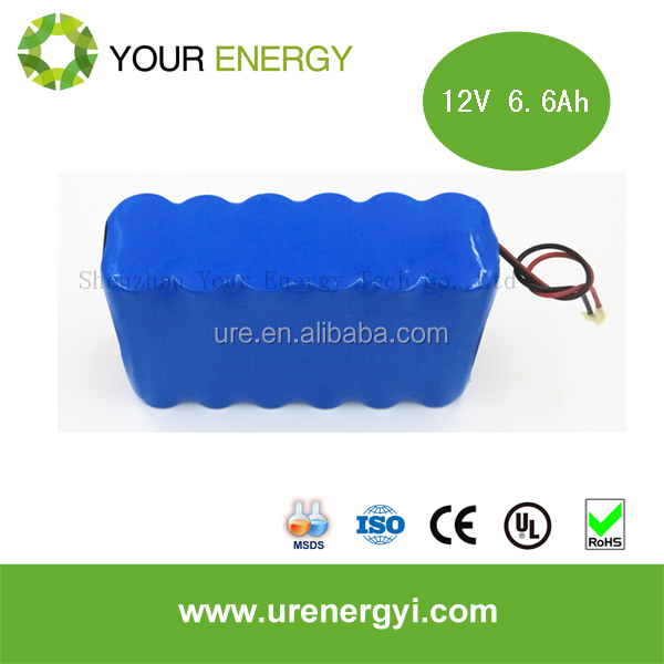Factory directly supply 10ah 11.1v li-ion type battery pack 3.6v lithium ion battery